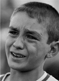 Petit garçon à Bagdad