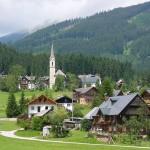 Village dans l'Alberg